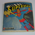 1970 Gaf View Master Superman viewing reels discs in packet @SOLD@